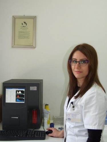 Milica Antić Ilić, medicinski tehnolog